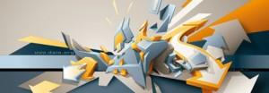 3D Graffiti Daim