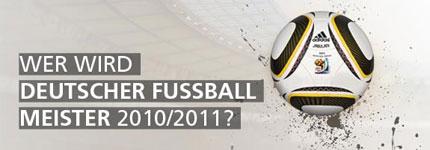Gewinnspiel deutscher Meister 2010/2011