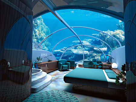Unterwassser Hotel Türkei