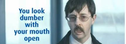 Otriven - Du siehst dümmer aus mit dem Mund offen