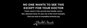 Darmkrebs Kampagne Text